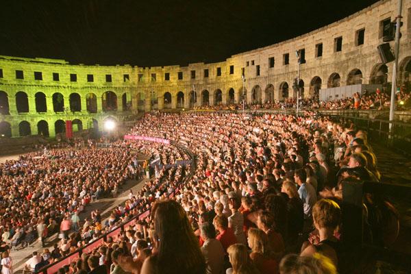 Jubilee of the famous film festival in Pula