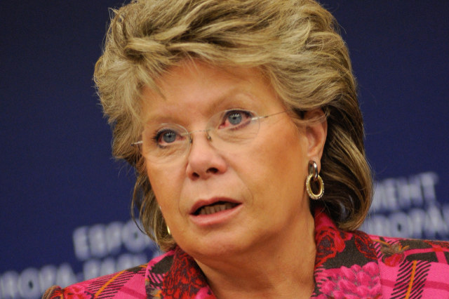 Justice Commissioner Reding visits Bulgaria