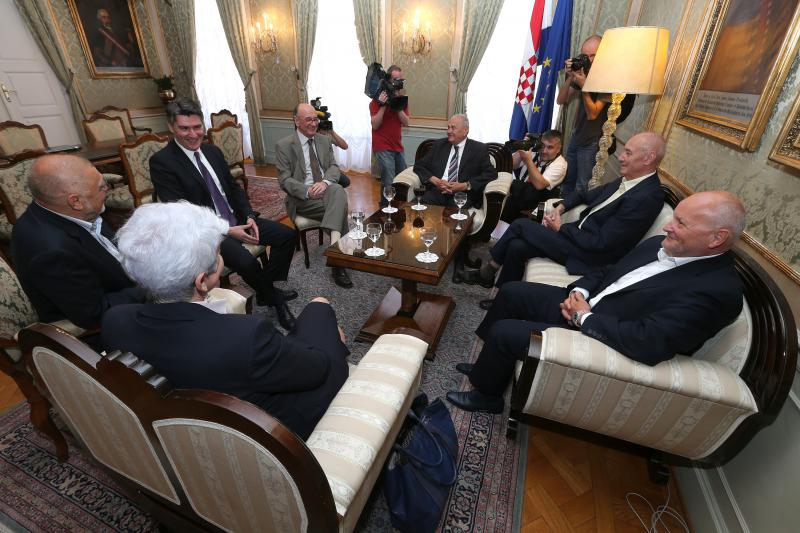 Gathering of former Croatian Prime Ministers