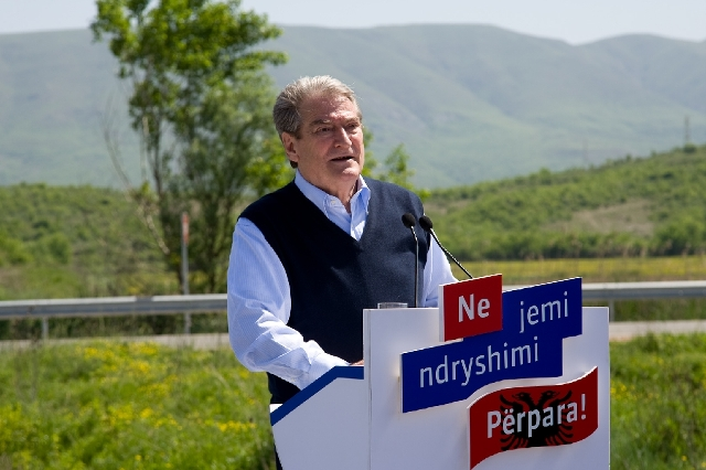 Premier Berisha: Funds for the completion of the Road of Arber have been secured