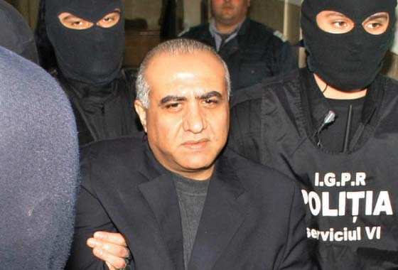 Romania's most wanted reaches police arrest after extradition from Syria