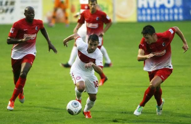 "Freiburg ""creamed"" Olympiakos by 4-2"