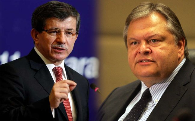 Cypriot and bilateral relationships to be discussed between Venizelos and Davutoğlu