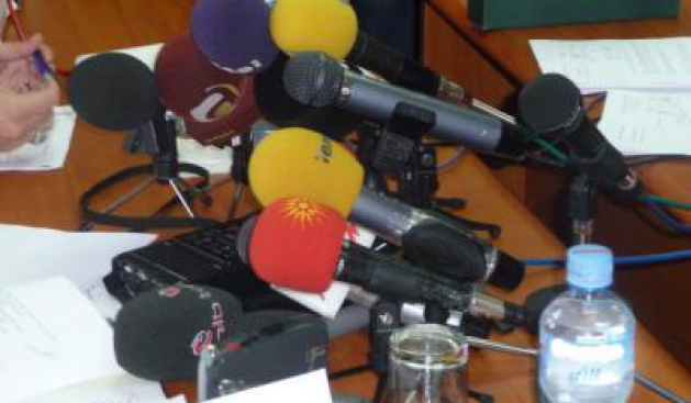Association of journalists in FYROM demands the withdrawal of the bill on media