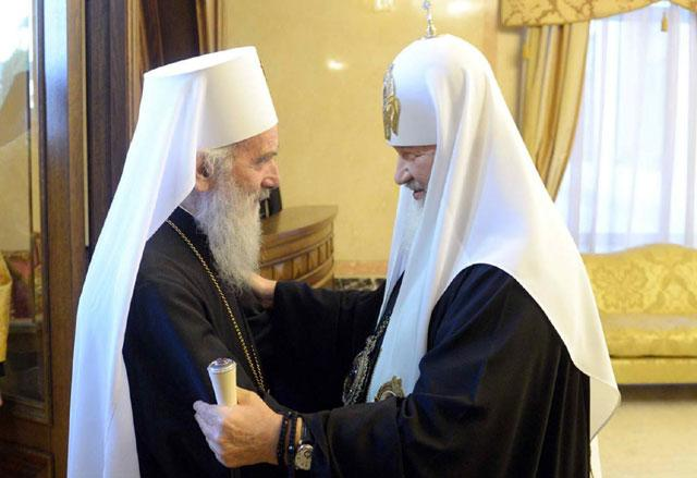 Serbian leadership criticized by patriarchs of Russia and Serbia