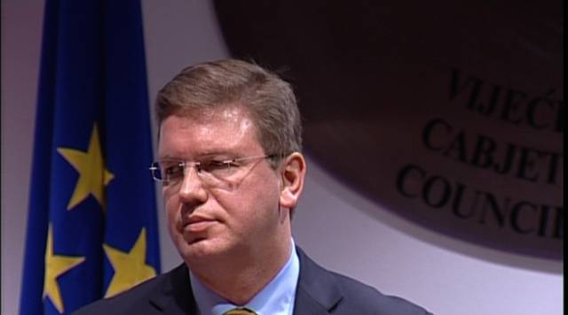 Euro Commissioner Fule to visit Kosovo in order to discuss SAA