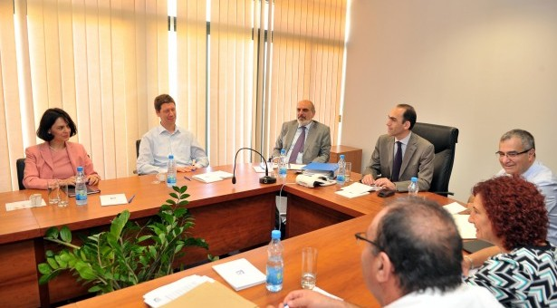 Troika's representatives in Nicosia