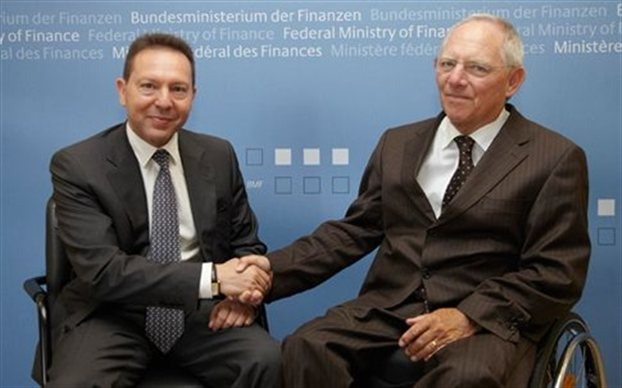 "Schäuble to discuss with Greek FM ""additional financial aid"""