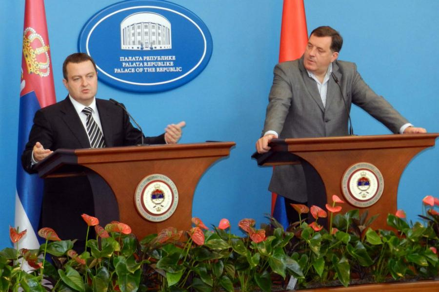 Cordial alliance of Serbia and Republic of Srpska