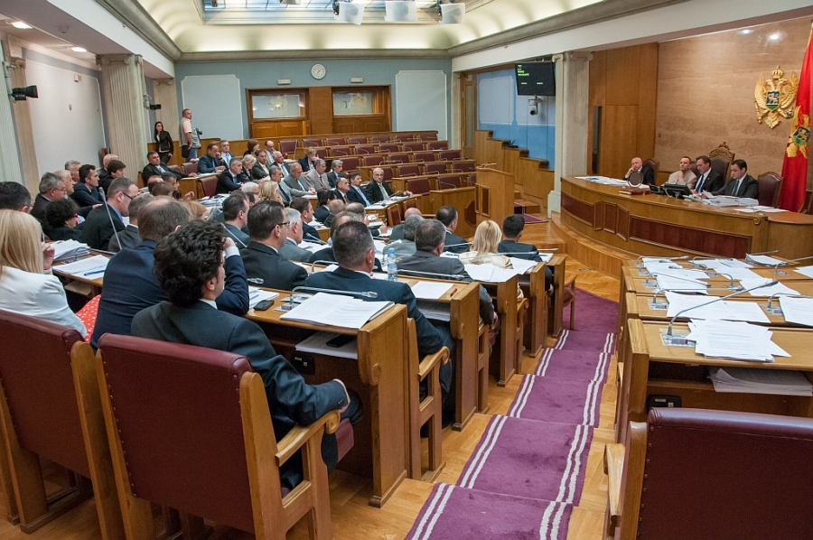 Parliament in Montenegro approves several important economic and social laws