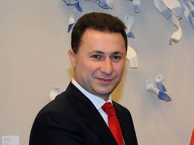 Premier Gruevski loses all hopes for a solution to the name dispute.
