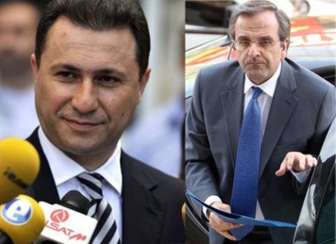 Gruevski demands a meeting with Samaras on the name dispute issue