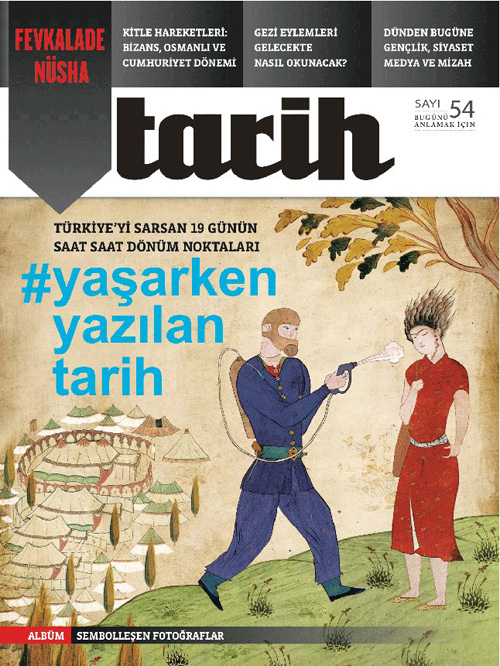 Turkish history magazine closed down for preparing special issue on Gezi
