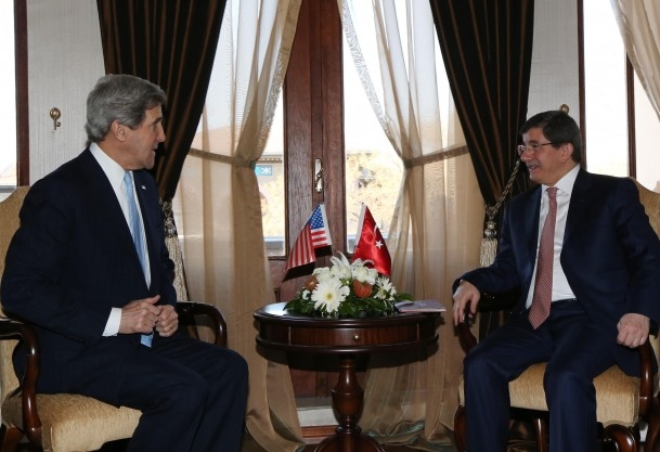 Davutoğlu requested U.S. explanations about spying incidents