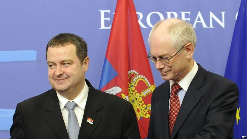 EU urges Serbia to persist in dialogue with Priština