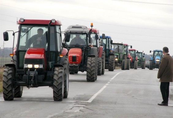 Farmers' protests in Croatia