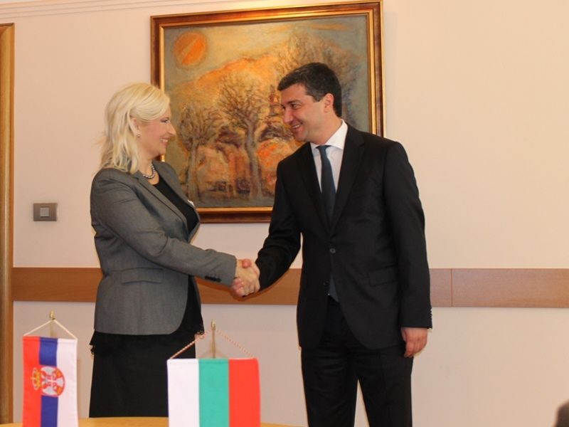 Bulgaria's ambition is to have gas interconnector with Serbia by 2017