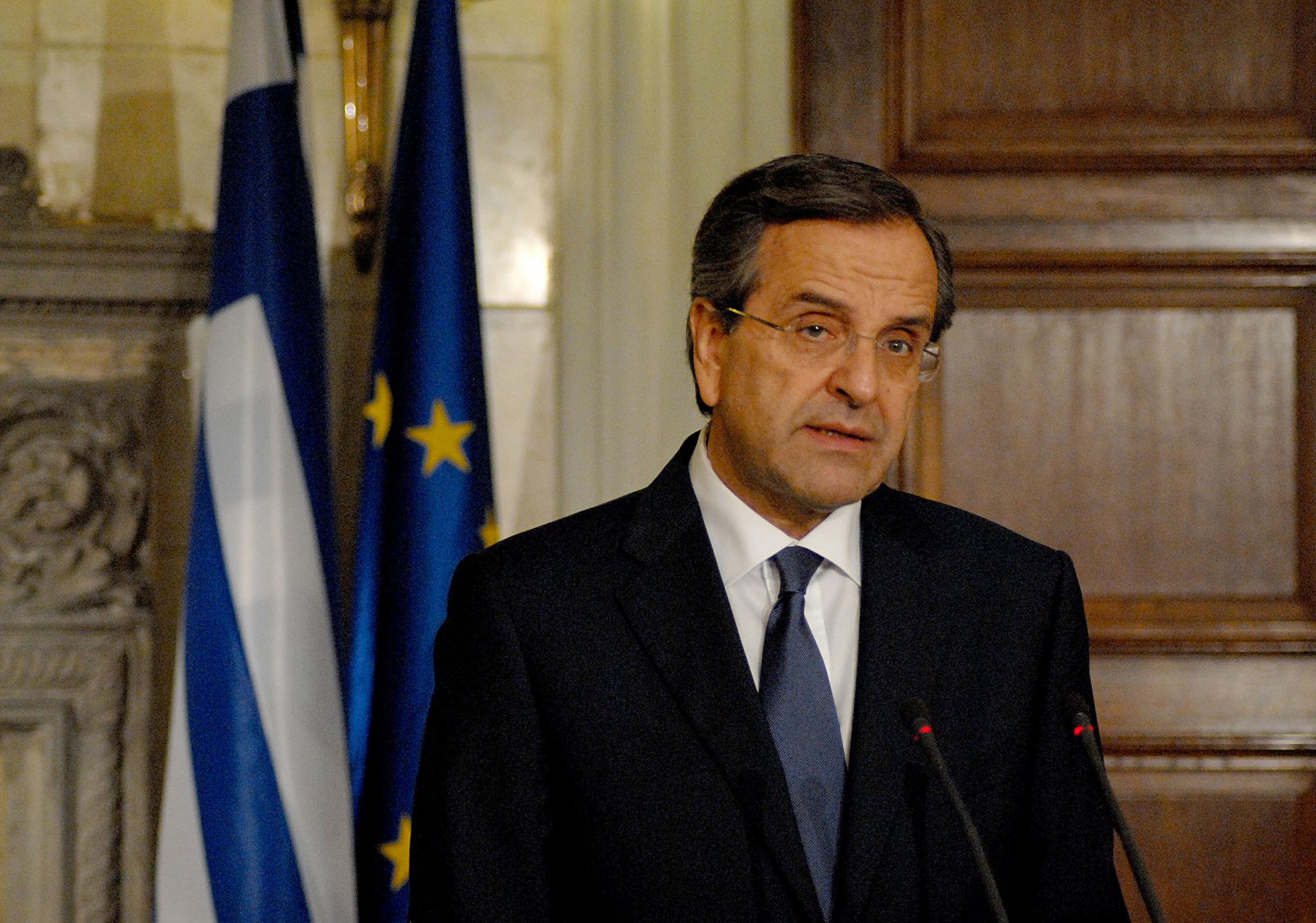 Samaras calls on diaspora to invest in Greece