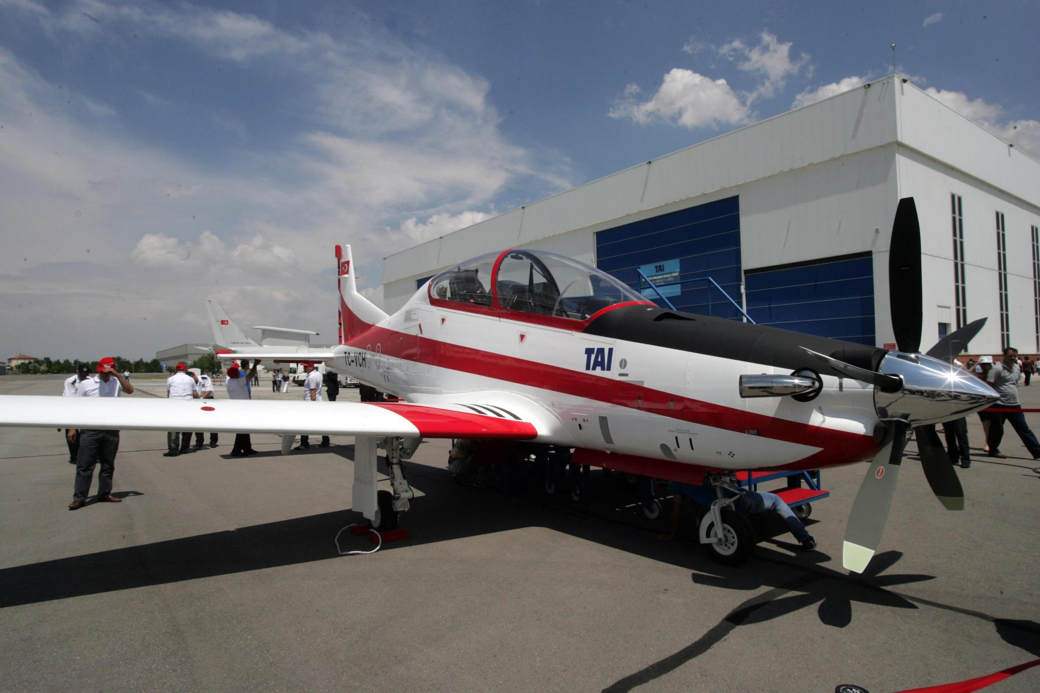 By 2018 the delivery of the new Turkish training planes