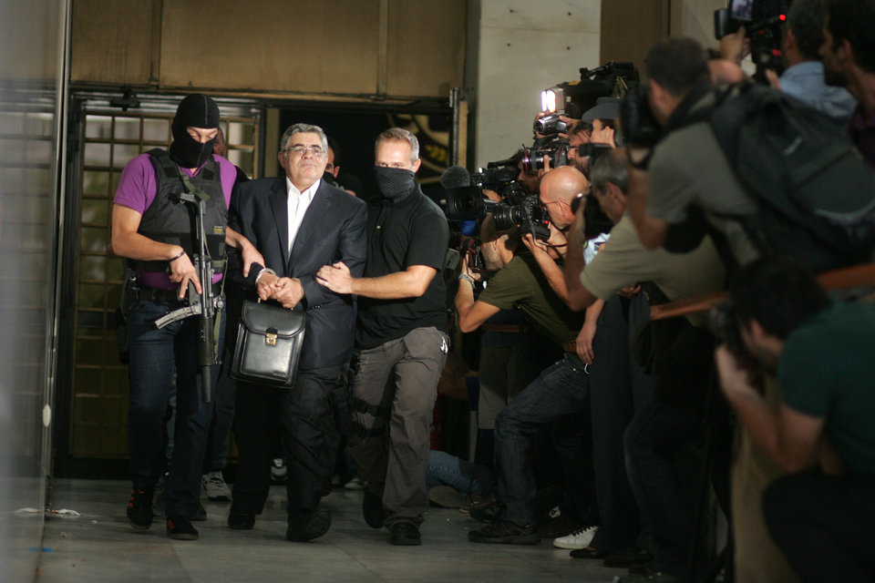 Government seeks to outlaw Golden Dawn; party leadership to appear in court