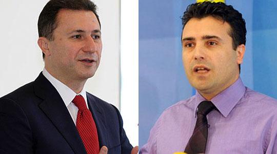 LSDM demands a TV debate between Zaev and Gruevski