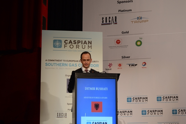 Foreign Minister Bushati: Kosovo must become part of the gas projects