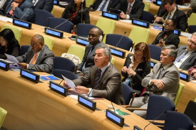 Prime Minister Djukanovic presents the vision for the future of Montenegro in New York