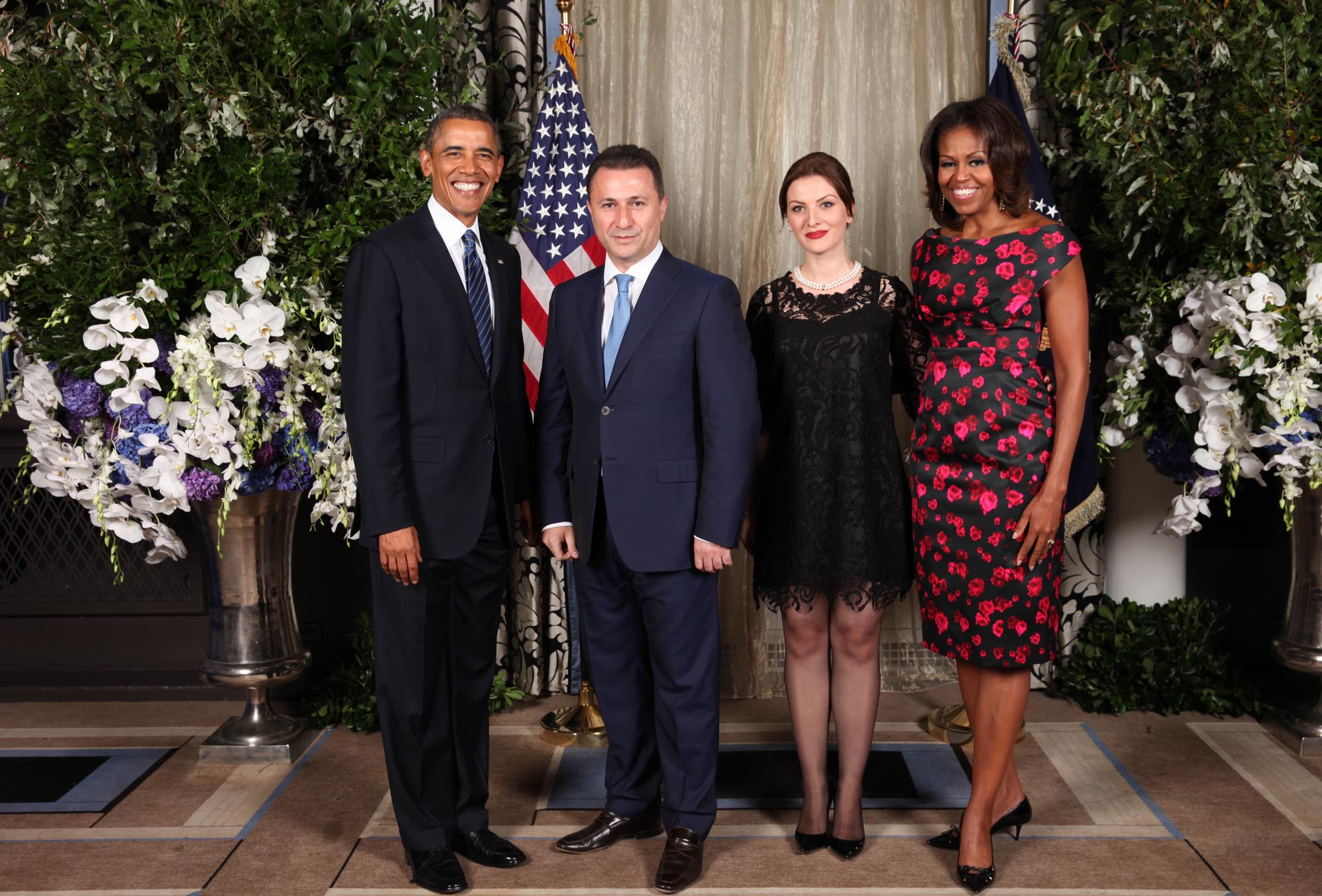 Prime Minister's office releases Gruevski's photo with Obama