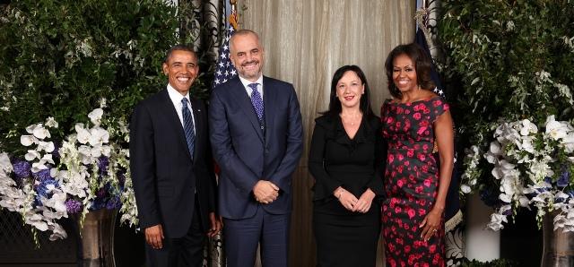 Premier Rama meets President Obama