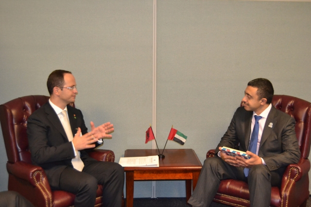 Albania and United Arab Emirates discuss on boosting up collaboration