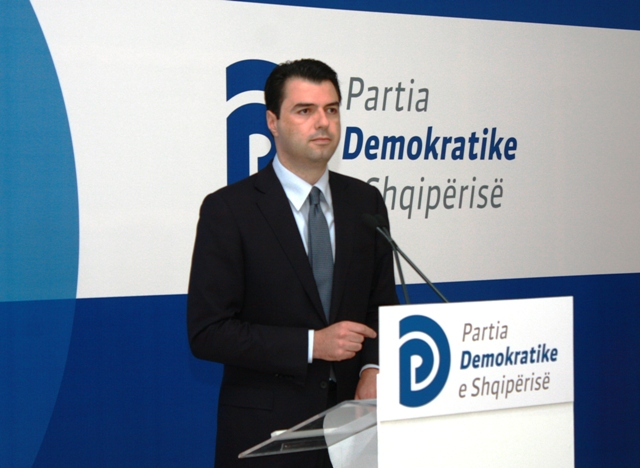Leader of DP Basha congratulates Merke: The right wing platform is the best offer