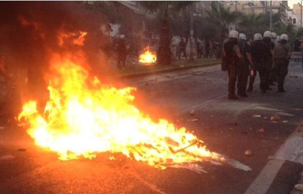 Anti-fascist rage in Greece