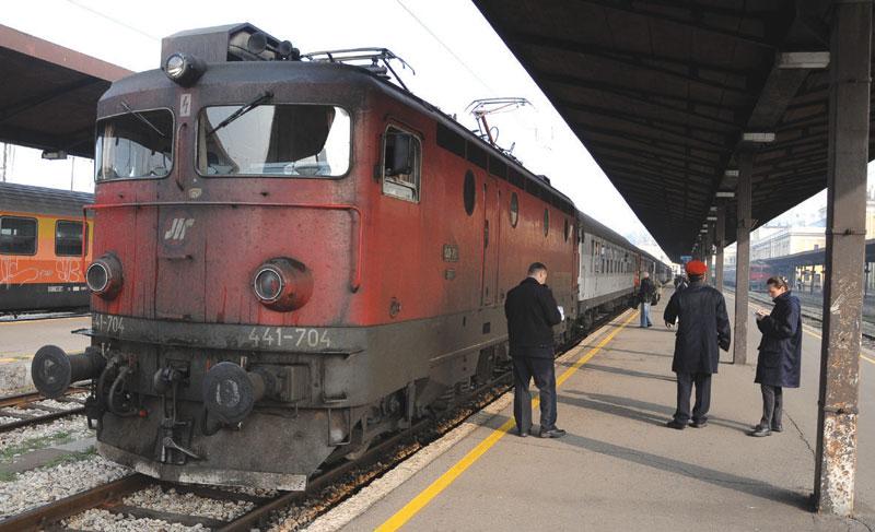 Serbian railways downfall