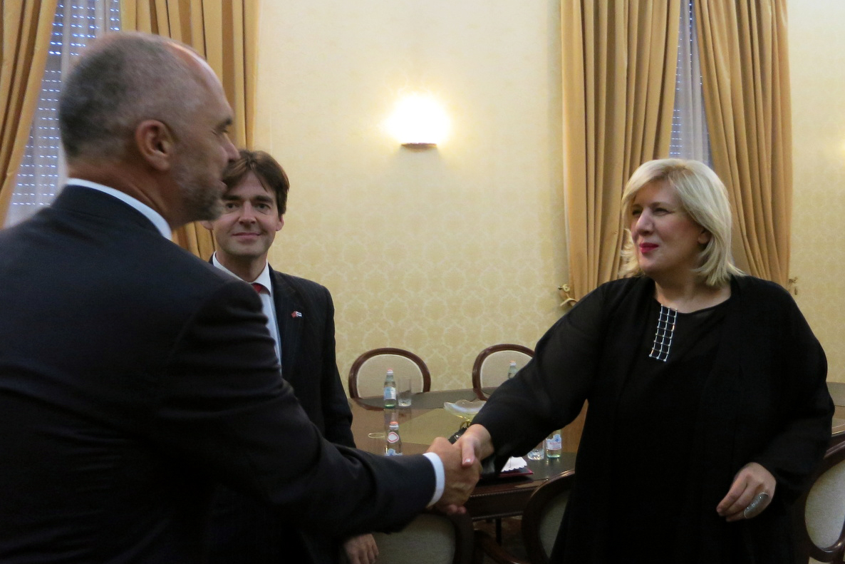 Meeting new government in Albania, OSCE media freedom representative urges reform of public broadcaster
