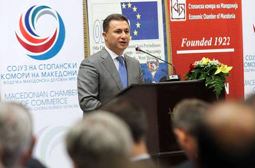 Premier Gruevski promises increases of salaries, pensions and social allowance for 2014