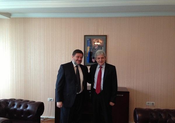 Leader of BDI receives the ambassador of Kosovo