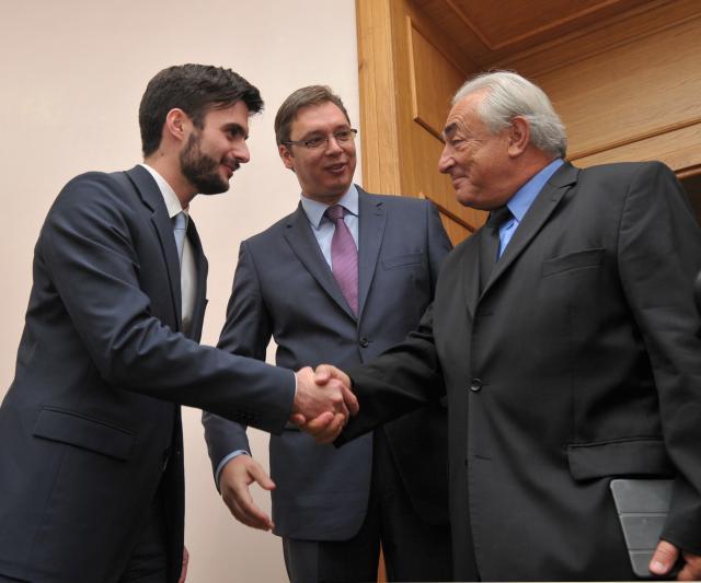 Strauss-Kahn: I will try to help Serbia