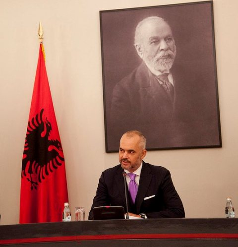 Prime Minister Rama holds an official visit to Brussels