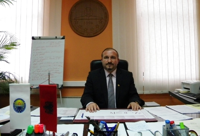Vullnet Ahmeti is elected rector of the State University of Tetovo