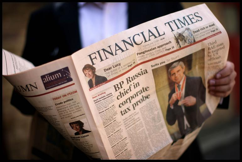 """FT: """"Recession in Greece is nearly at the end"""""""