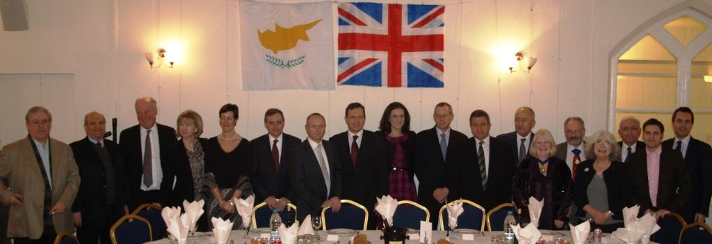 UK Cypriots and Conservative party reaffirm close links