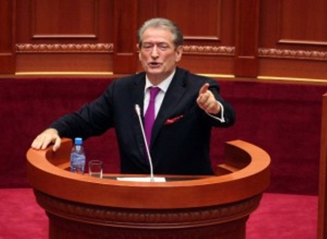 DP leaves parliament during Rama's speech, Berisha: His days are counted