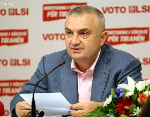Ilir Meta is elected parliamentary speaker: Let's leave conflicts behind