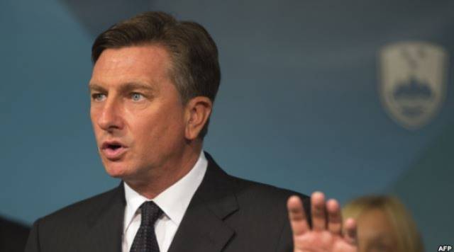 Slovenian President in an official visit to Kosovo