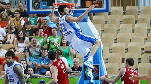 Results of Group D in Day 2 of Eurobasket 2013
