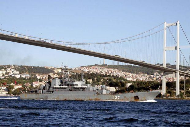 Russian Fleet in Bosporus – Raid cruisers heading to Syria
