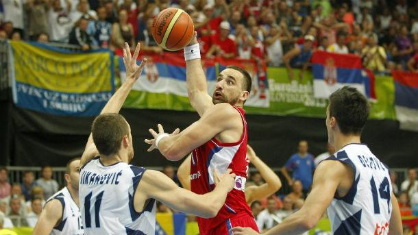 Results of Group B in Day 2 of Eurobasket 2013