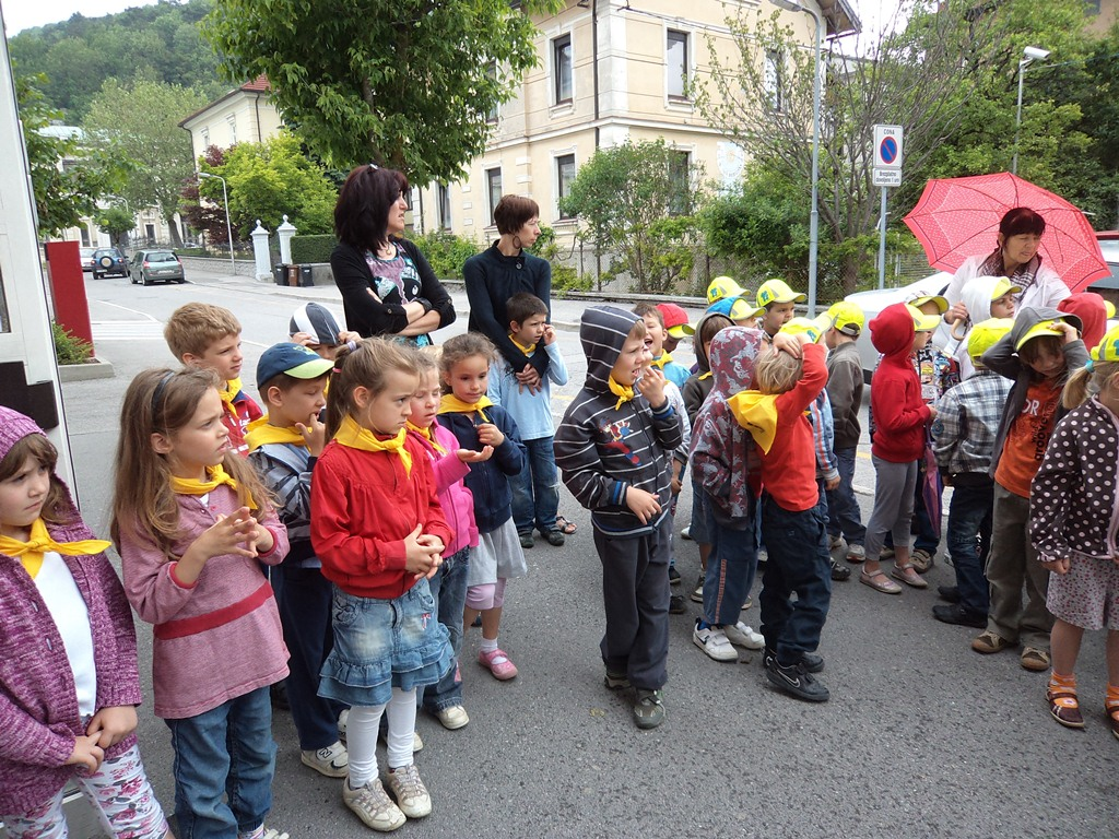 Slovenia's children first day at school begins