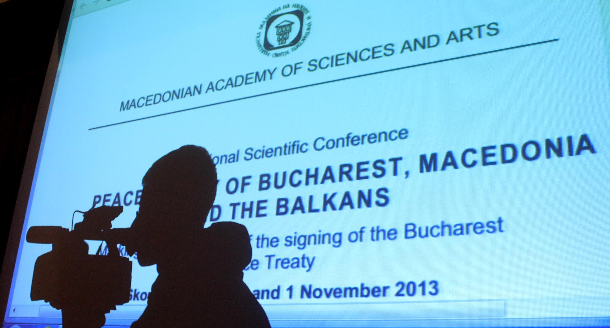 Academics in FYROM blame international historical conferences