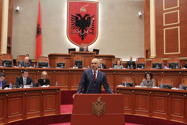Premier Rama launches accusations against the former PM and Minister of Interior for allowing criminal activities